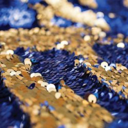 Royal Gold Sequin